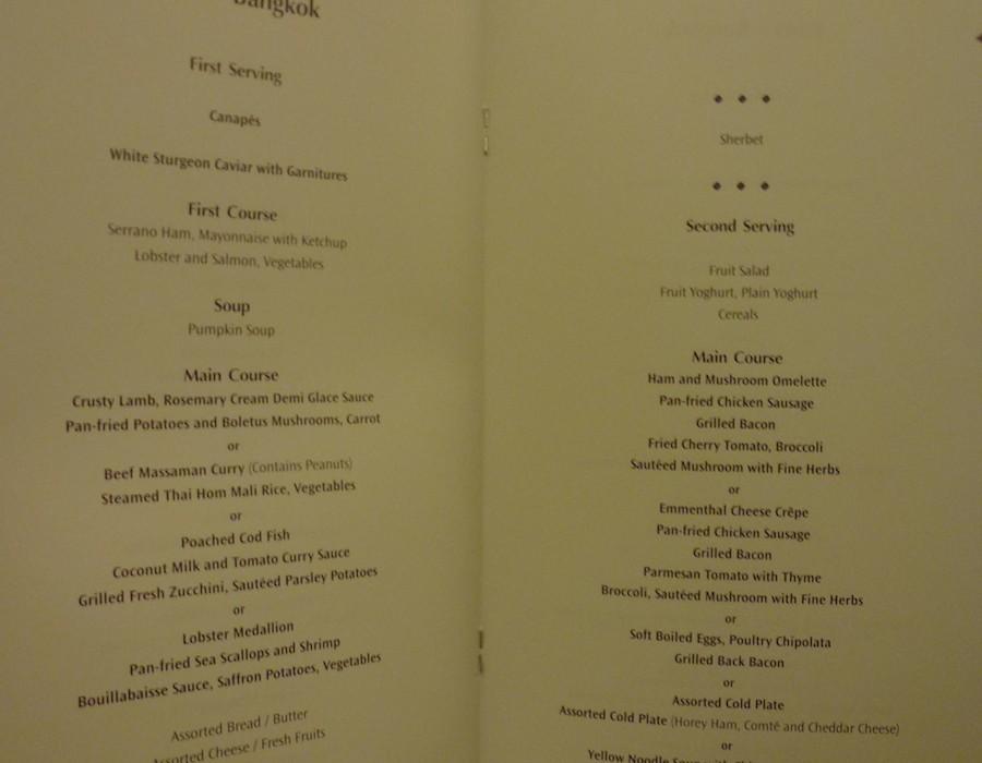pearl thai massage menu