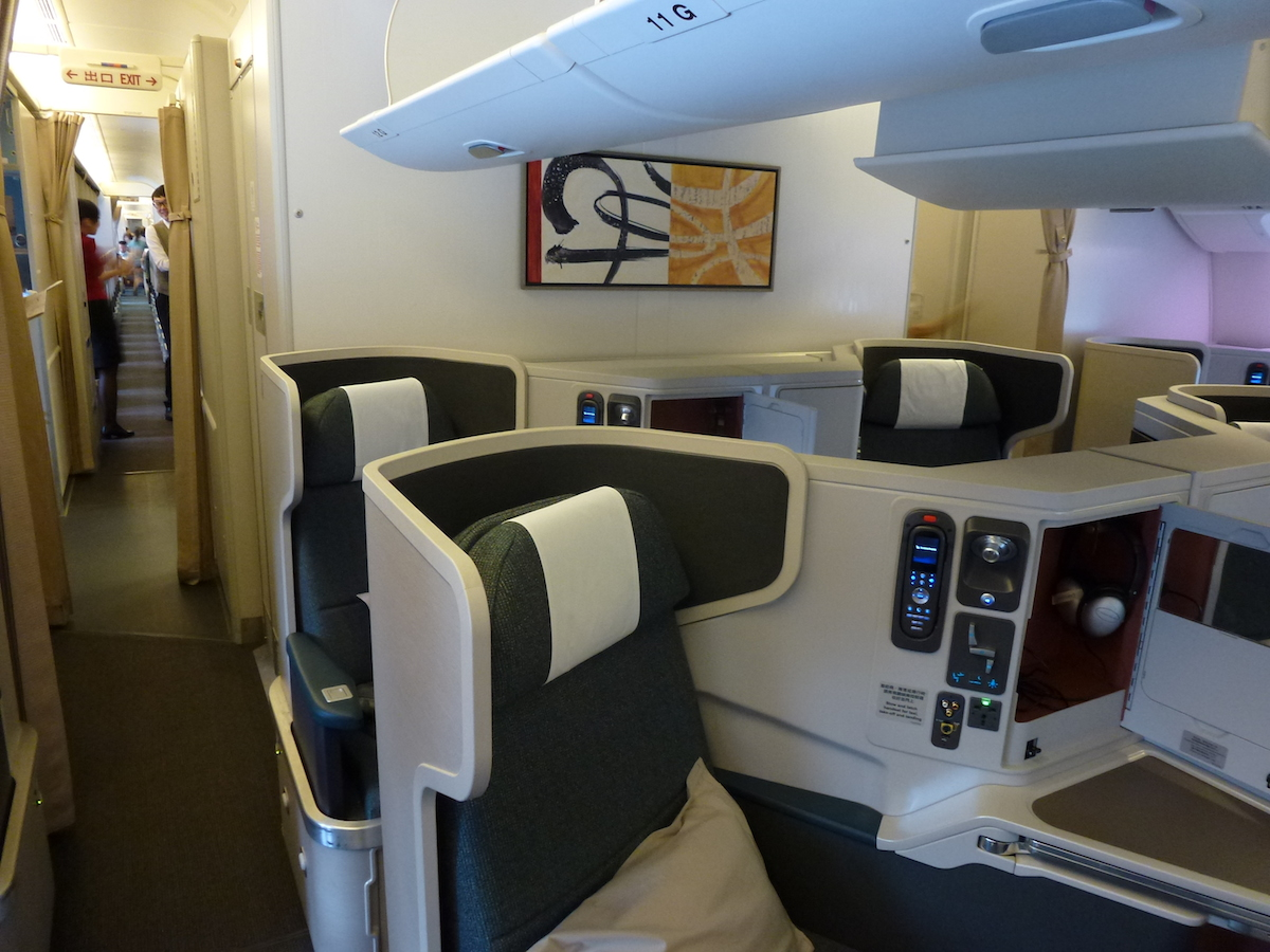 The gallery for --> Cathay Pacific Business Class A330
