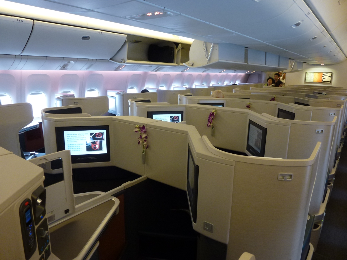 Cathay Pacific Business Class Cathay pacific business class