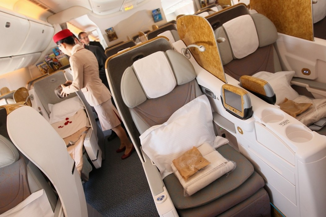 Emirates Business Class B777