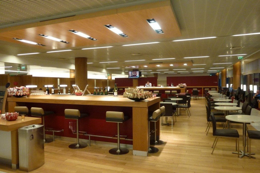 Air France Business Class lounge Paris - Main area