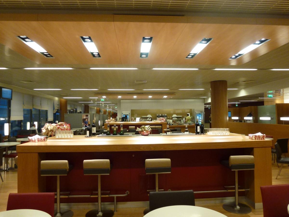 Air France Business Class Lounge in Paris