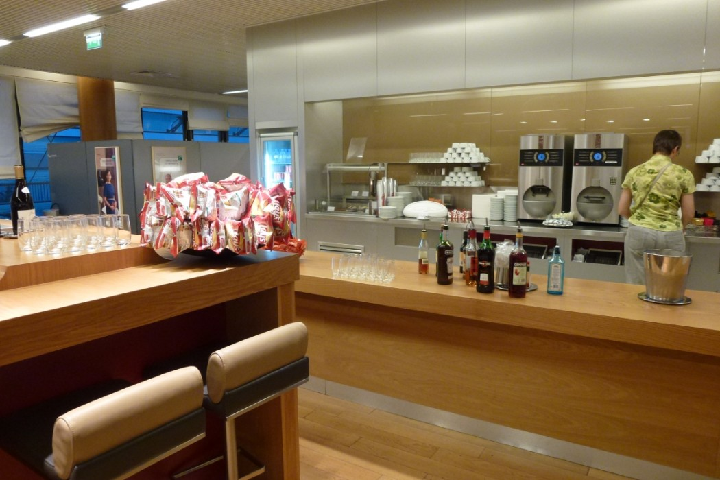 Air France Business Class lounge Paris - Snack
