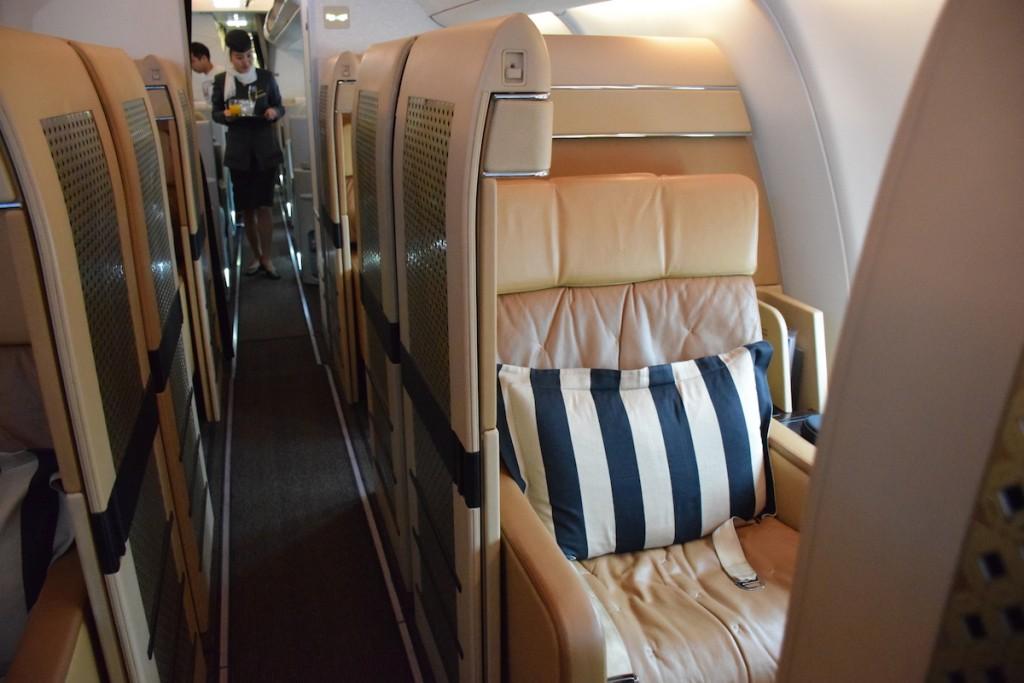 Etihad Airways Diamond First Class seatEtihad Airways Diamond First Class