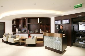 Etihad Airways Diamond First Class lounge in Abu Dhabi