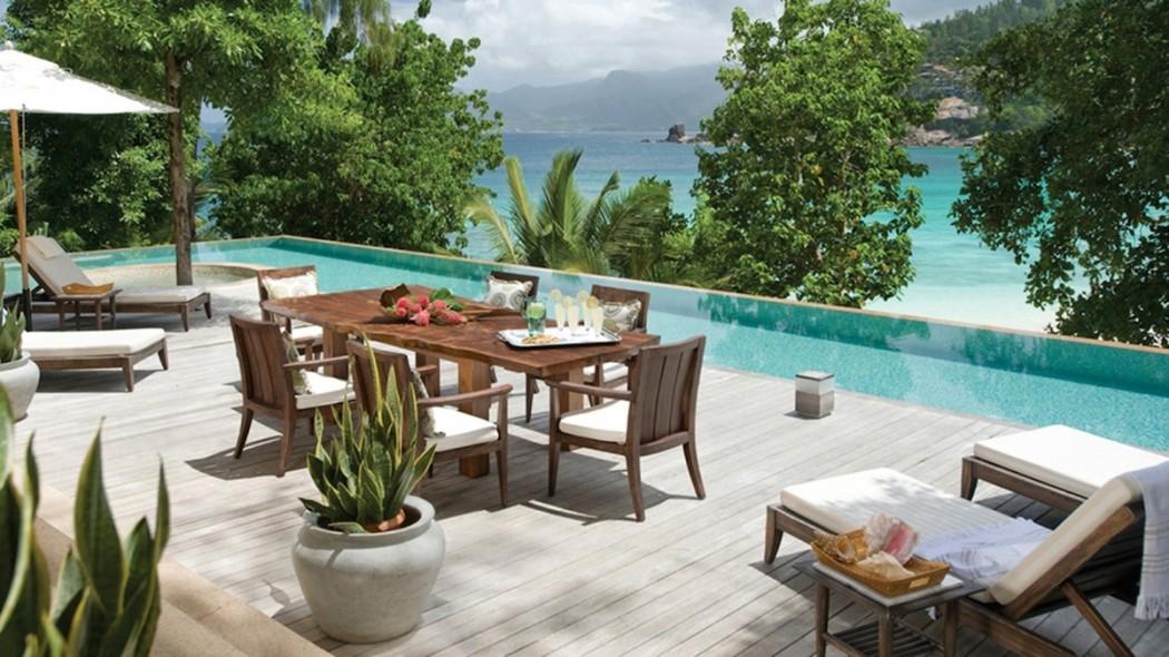 Four Seasons Seychelles - Villa terrace