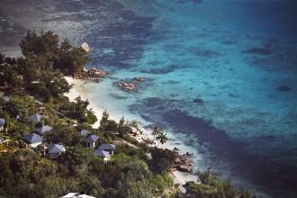 Raffles Praslin - Aerial view