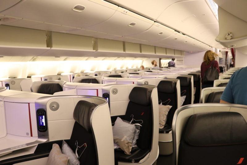 Air France Business Class cabin