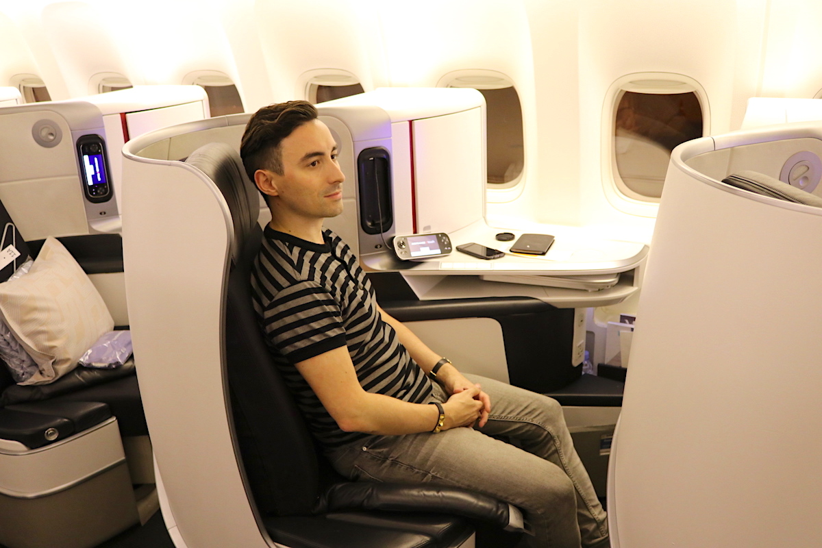 Inside the new Air France Business Class